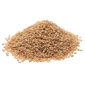 Natural round rice