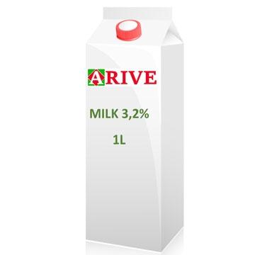 Milk 3,2% 1L