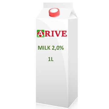 Milk 2,0% 1L